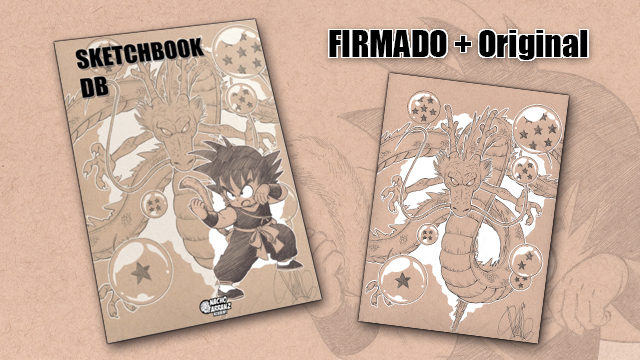 SketchBook DB Firmado + Original October Ink día 31