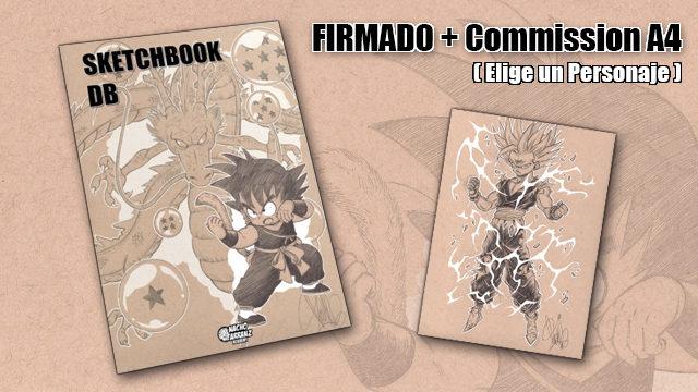 SketchBook DB Firmado + Commission A4