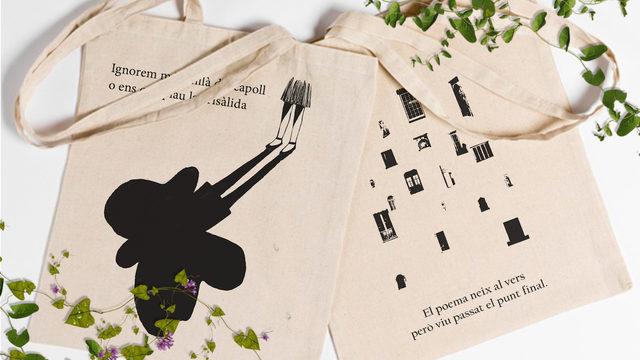 Llibre + bossa + agraïments