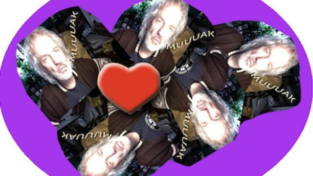 Cinco besos de amor.