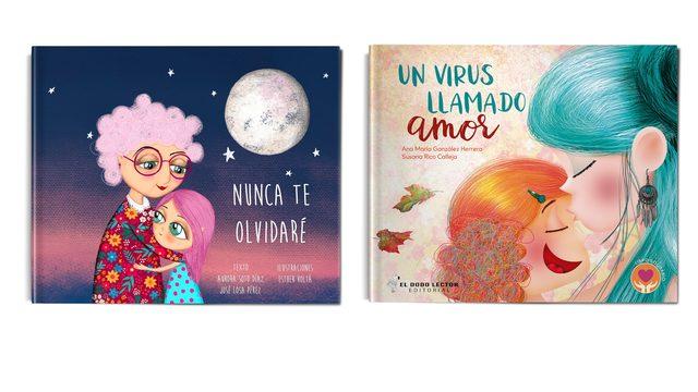 """Pack 2 libros """"Nunca te olvidaré"""" + """" Un virus llamado amor"""""""