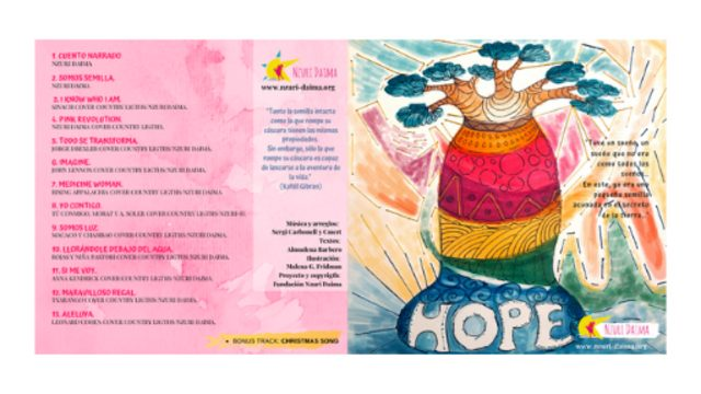 "Disc ""Hope"" (physical CD)"