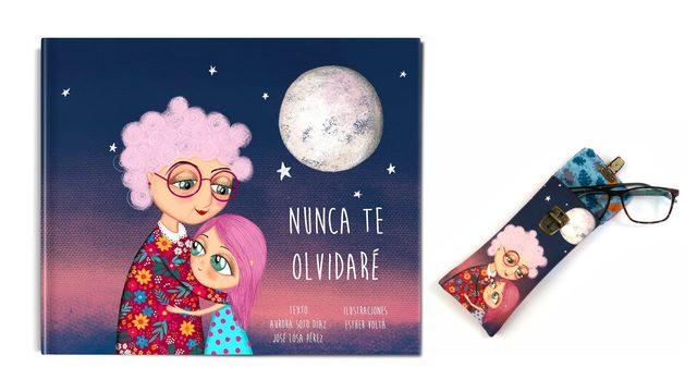 """Libro de """"Nunca te olvidaré"""" + Funda de gafas"""