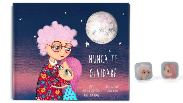 """Libro """"Nunca te olvidaré"""" + Pendientes pequeños"""