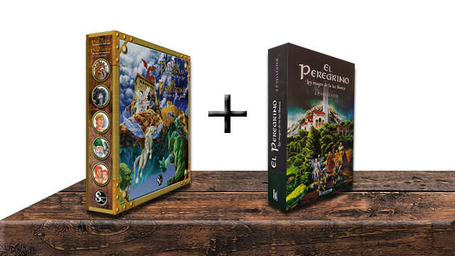 One game + the Spanish edition book