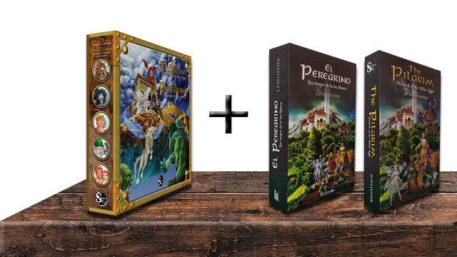 One game + two books (in English or Spanish)