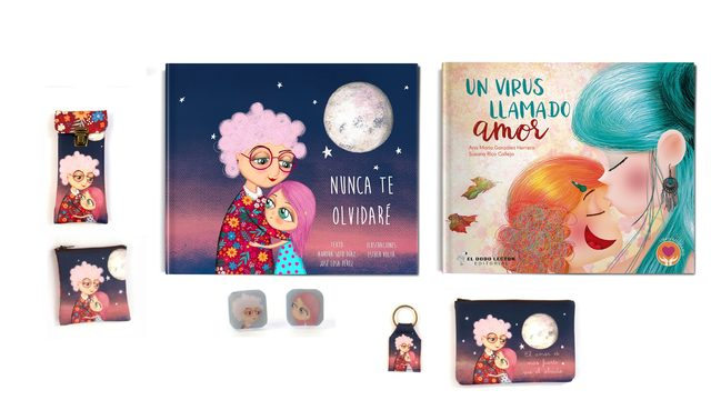"Libro ""No te olvidaré"" + libro ""Un virus llamado amor"" + 2 productos libre elección"