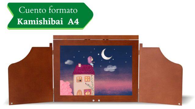 Láminas del cuento para Kamishibai A4