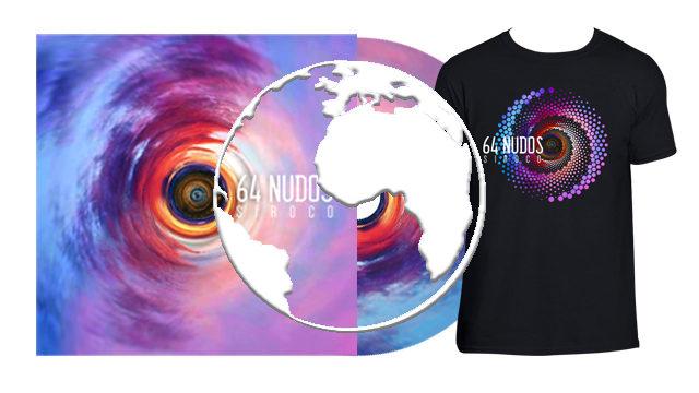 CD Siroco dedicado + Camiseta Siroco (envío internacional)
