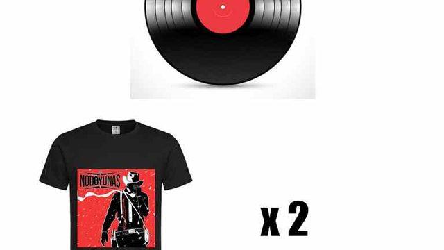 Vinilo + 2 Camisetas