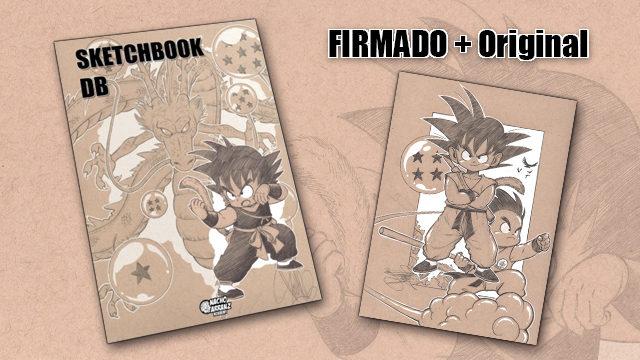 SketchBook DB Firmado + Original October Ink EXTRA 01. *BLACK DAYS*