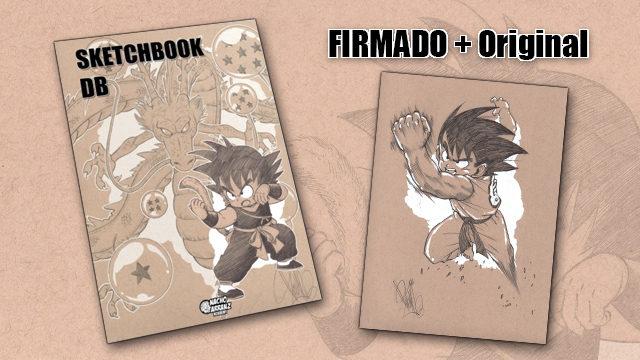 SketchBook DB Firmado + Original October Ink EXTRA 02. *BLACK DAYS*