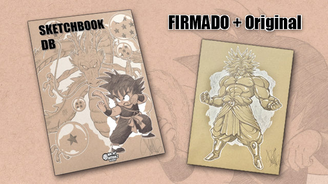 SketchBook DB Firmado + Original October Ink EXTRA 03. *BLACK DAYS*