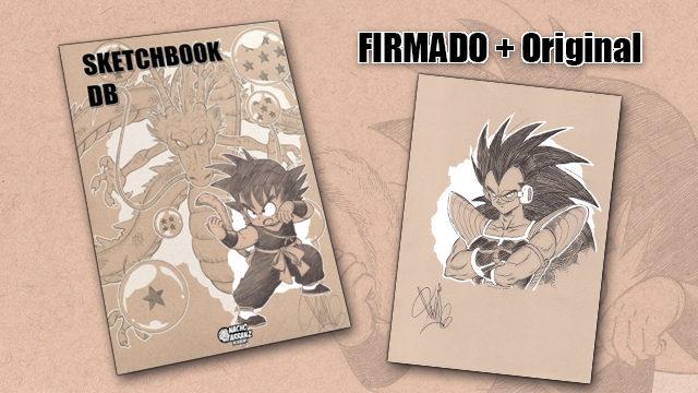 SketchBook DB Firmado + Original October Ink EXTRA 04. *BLACK DAYS*