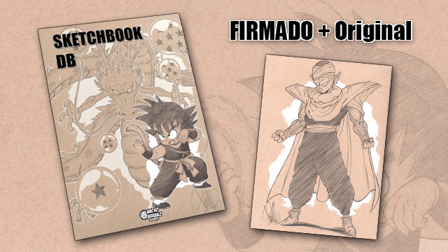 SketchBook DB Firmado + Original October Ink día 10 *BLACK DAYS*