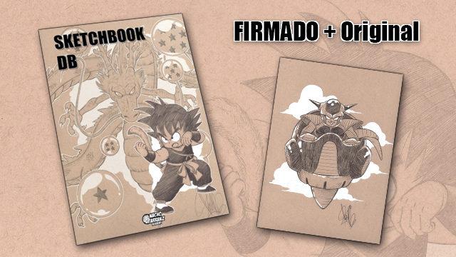 SketchBook DB Firmado + Original October Ink día 14. *BLACK DAYS*