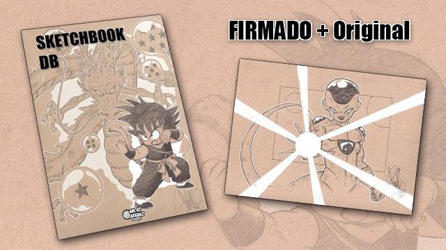 SketchBook DB Firmado + Original October Ink día 17. *BLACK DAYS*