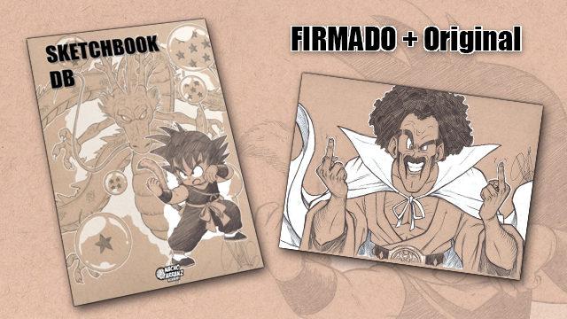 SketchBook DB Firmado + Original October Ink día 20. *BLACK DAYS*