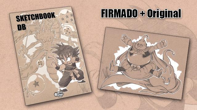 SketchBook DB Firmado + Original October Ink día 23. *BLACK DAYS*