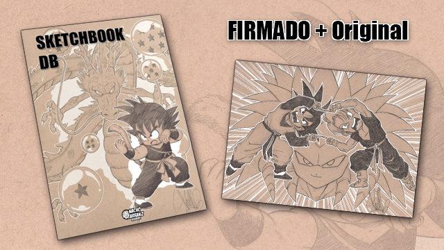SketchBook DB Firmado + Original October Ink día 24. *BLACK DAYS*