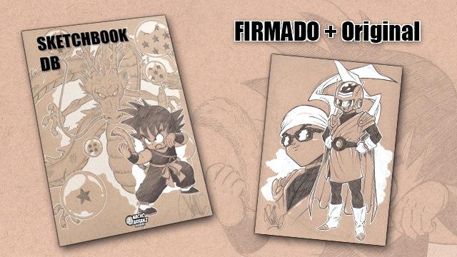 SketchBook DB Firmado + Original October Ink día 28. *BLACK DAYS*