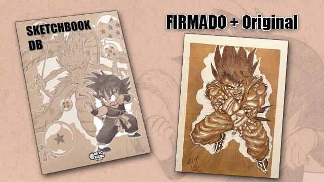 SketchBook DB Firmado + Original October Ink EXTRA 05. *BLACK DAYS*