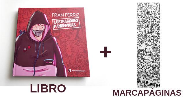 Libro y marcapáginas exclusivo