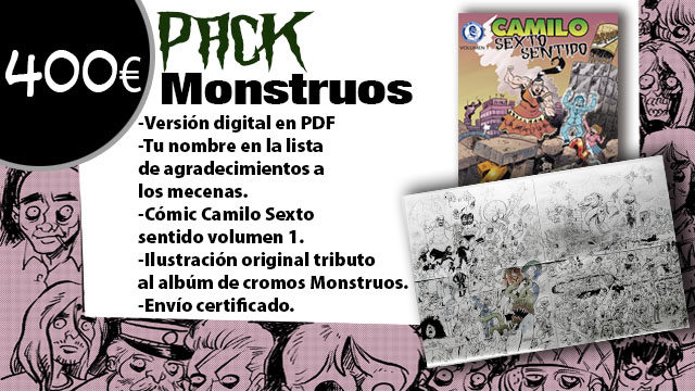 Pack Monstruos