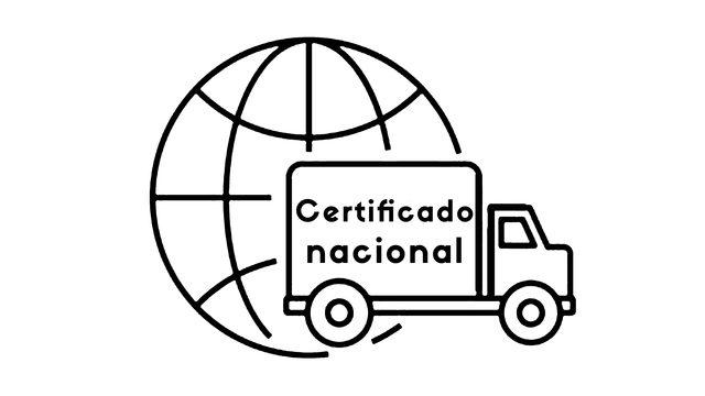 Envío Certificado nacional