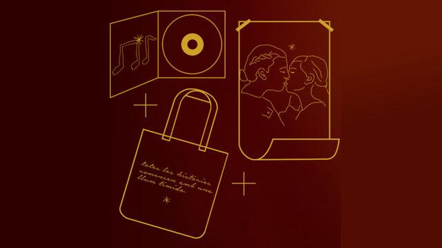 CD + Totebag + Poster oficial de l'obra signat per les intèrprets.