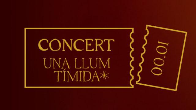 CD + Entrada pel primer concert de presentació del CD.