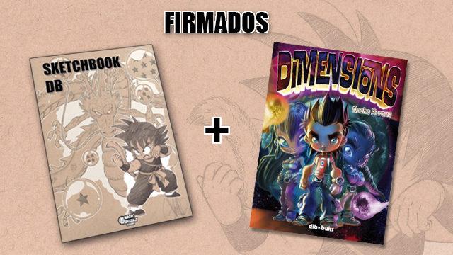 SketchBook DB Firmado + Dimensions (Firmado) *Black Weekend+Cyber Monday*