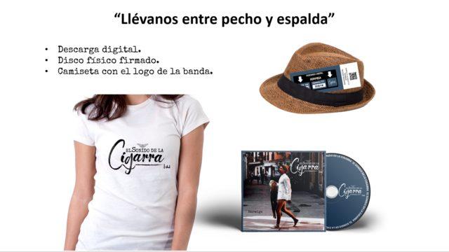 """""""Llévanos entre pecho y espalda"""""""