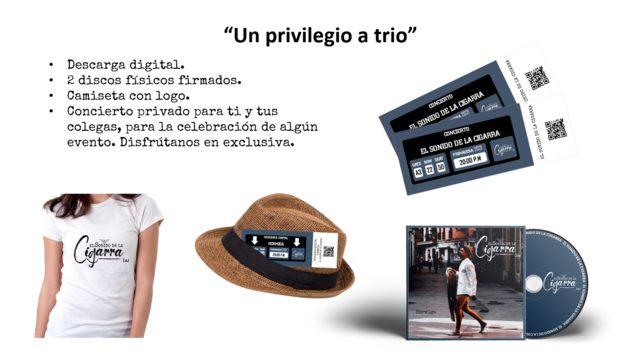 """""""Un privilegio a trio"""""""
