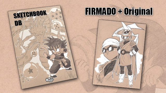 SketchBook DB Firmado + Original October Ink día 28.