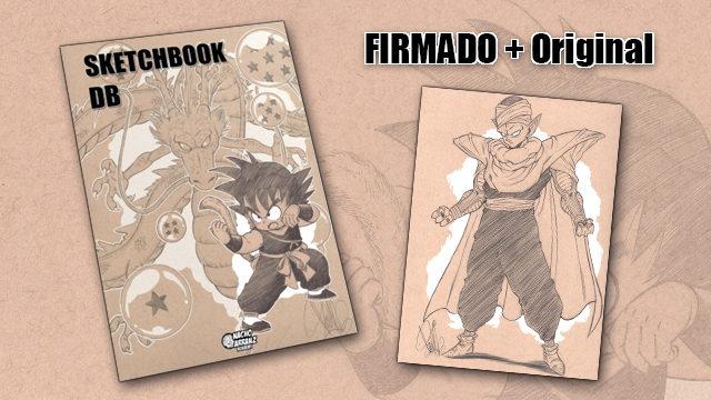 SketchBook DB Firmado + Original October Ink día 10.