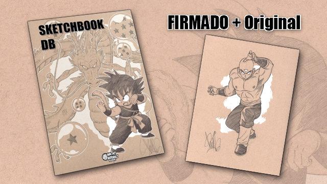 SketchBook DB Firmado + Original October Ink día 09.
