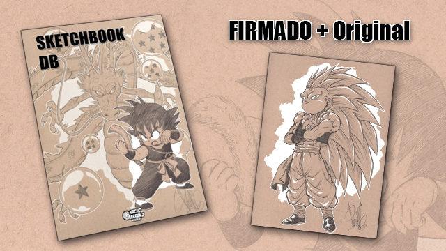 SketchBook DB Firmado + Original October Ink día 25.