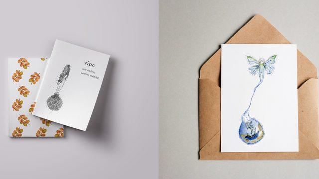 Poemari + postal + agraïments