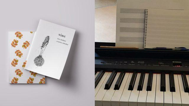 Poemari + dedicatòria musical + agraïments