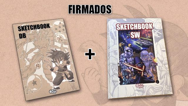 SketchBook DB Firmado + SketchBook SW 2019 (Tapa Dura-Edición Deluxe)