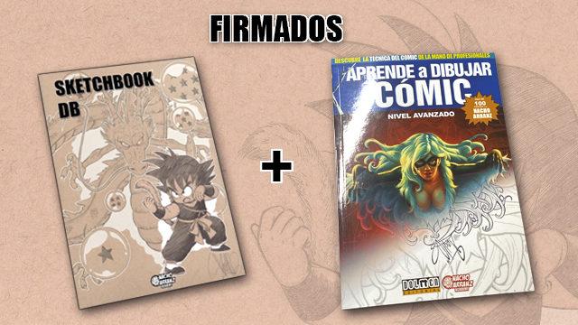"""SketchBook DB Firmado + Libro """"Aprende a Dibujar. Nivel Avanzado"""""""