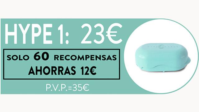 """""""HYPE 1"""": AHORRAS 12€ _ SÓLO 60 RECOMPENSAS"""