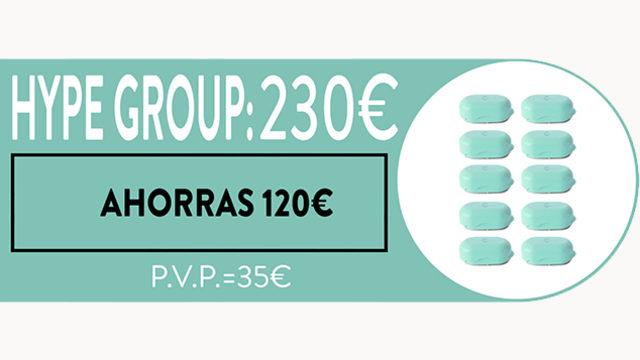 """""""HYPE GROUP"""": AHORRAS 120€ _ UNIDAD 23€ _ SIN LÍMITE EN NÚMERO DE RECOMPENSAS"""