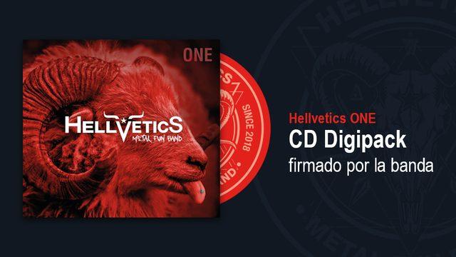 ONE en CD Digipack