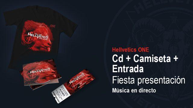 """¡Todo en """"one""""! ONE en CD + Camiseta + Entrada a Fiesta"""