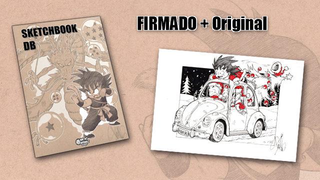 SketchBook DB Firmado + Original October Ink EXTRA 06. ¡¡ FELIZ NAVIDAD !!