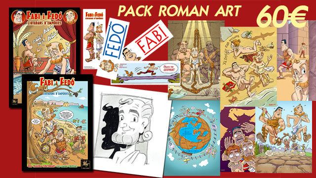 PACK ROMAN ART