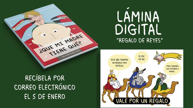 PROMO 48H - Cómic + Ilustración digital REGALO REYES
