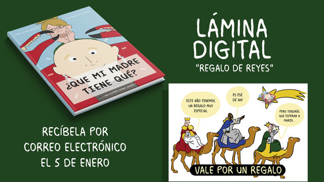 Cómic + Ilustración digital REGALO REYES